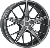 OZ Racing - Quaranta Grigio Corsa Diamond Cut