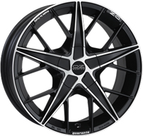 OZ Racing - Quaranta Matt Black Diamond Cut